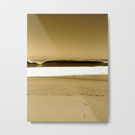 beach break Metal Print