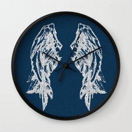Midnight Flight Wall Clock