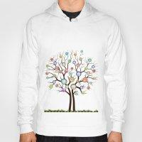 tree of life Hoodies featuring tree by mark ashkenazi