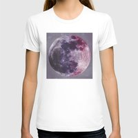 moon phases T-shirts featuring Phases of the Moon by De(b)sign