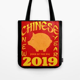 Chinese New Year 2019 - Year of the Pig Tote Bag