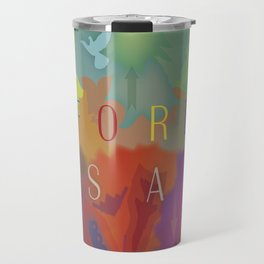 Color Forest Travel Mug