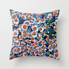 chrydsanthemum Throw Pillow