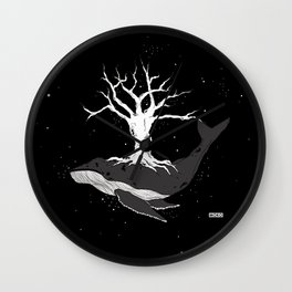 deep roots Wall Clock