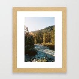River at the Trailhead Framed Art Print