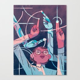 """In Mathematics, Mistakes Aren't What They Used To Be"" by Richie Pope for Nautilus Canvas Print"