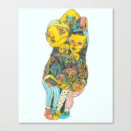 Kalli's Feet Canvas Print