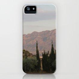 Simmering Sierra iPhone Case
