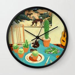 LA MESA DE CACTUS Wall Clock