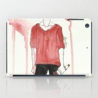 steve mcqueen iPad Cases featuring Steve by Louis Franz