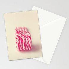 Christmas Candy Canes  Stationery Cards