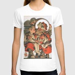 12,000pixel-500dpi - Joseph Christian Leyendecker - Christmas Eve - Digital Remastered Edition T-shirt