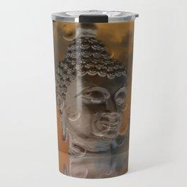 budha in sky Travel Mug