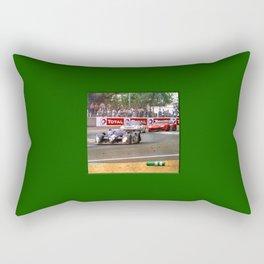 24 h de Le Mans - Vintage - Bentley #8 Bend Rectangular Pillow