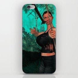 Survivor is shotting iPhone Skin