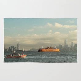 Coast Guard & Staten Ferry Rug
