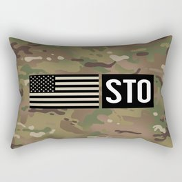 STO (Camo) Rectangular Pillow