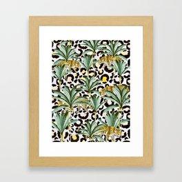 Jungle prowl Framed Art Print