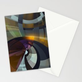 Abstract Composition 26 Stationery Cards