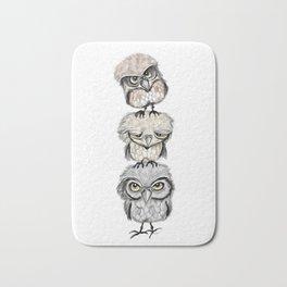 Owl Totæm Bath Mat