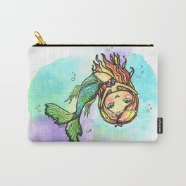 Dancing Mermaid Carry-All Pouch