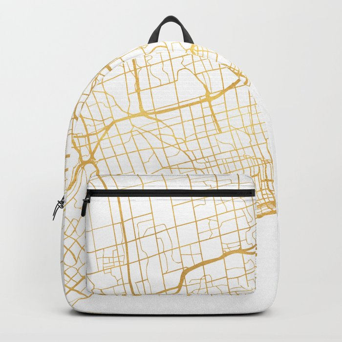 TORONTO CANADA CITY STREET MAP ART Backpack