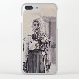 I Be The Witch Of The Wood Clear iPhone Case