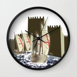 Ó gente da minha terra Wall Clock