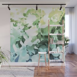 Floral light illusion Wall Mural