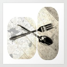 SPOON & GABLE Art Print