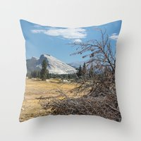 yosemite Throw Pillows featuring Yosemite by Adelaine Phee