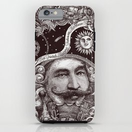 Baron von Munchausen iPhone Case