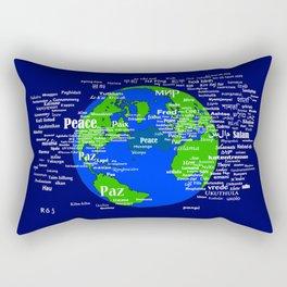 Peace on Earth Rectangular Pillow