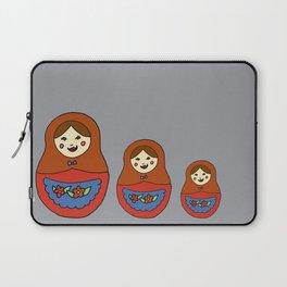 3 Matroyshkas Laptop Sleeve