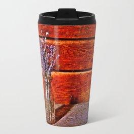 Milk Bottle Vase Travel Mug
