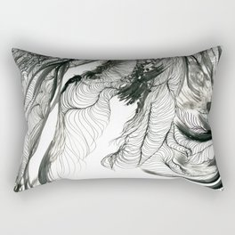 Twilight Jungle Rectangular Pillow
