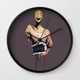 Decommissioned  Wall Clock