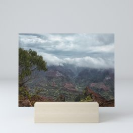 Waimea Canyon Mini Art Print