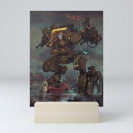 BANANA REPUBLIC (everyday 04.19.19) Mini Art Print