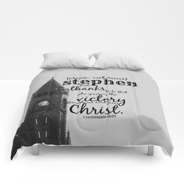 Stephen victorious Comforters
