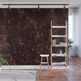 Stone coral - dark Wall Mural