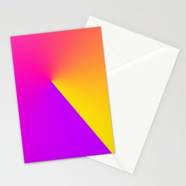 Abstract Summer Impression Stationery Cards
