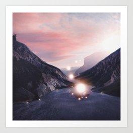 Energy. Art Print