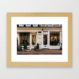 Centrum - Amsterdam, The Netherlands - #3 Framed Art Print