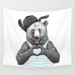 from russia with love Wall Tapestry