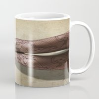 legs Mugs featuring Legs by Svetlana Sewell