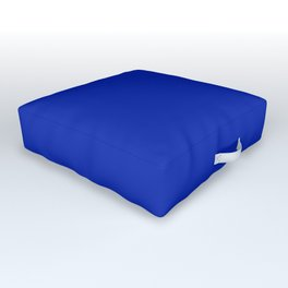 Royal Cobalt Blue Outdoor Floor Cushion
