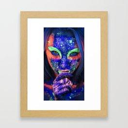 Ultraviolet Framed Art Print