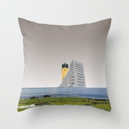 atmosphere 67 · dancing in the street Throw Pillow