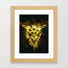 Team Instinct - Zapdos Framed Art Print